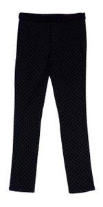 Marc by Marc Jacobs Black Spotted Textured Pants
