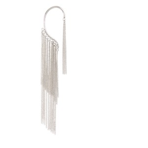 BCBGMAXAZRIA fringe single ear cuff earring
