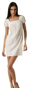 Vince short dress White Summer Eyelet on Tradesy