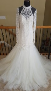 Tarik Ediz G1136 Wedding Dress