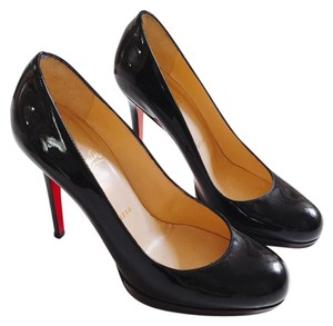 Christian Louboutin Louboutin Paris Heels Patent Leather Black Pumps