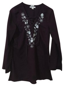 Old Navy Embroidered Blouse Tunic