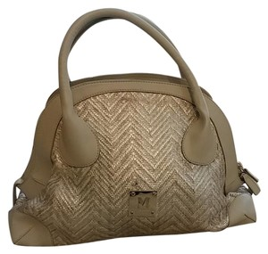 Missoni Satchel in Silver and gray