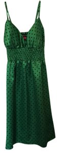 Wet Seal short dress green and black on Tradesy