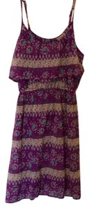 Mossimo Supply Co. short dress purple on Tradesy
