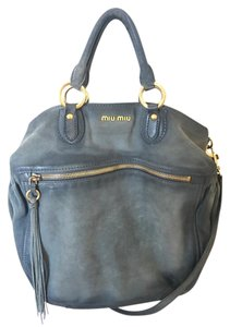 Miu Miu Satchel in Dark blue