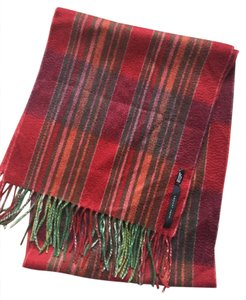 Marc Jacobs 100% Cashmere Striped Scarf