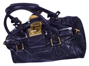 Chloe Paddington Bag Satchel in black