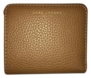 Marc Jacobs Small Gotham Pebbled Leather Wallet