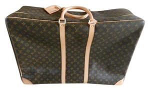 Louis Vuitton Leather brown Travel Bag
