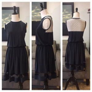 RED Valentino short dress navy blue on Tradesy