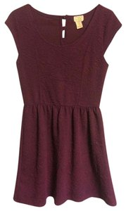 Eyelash Couture short dress Purple on Tradesy