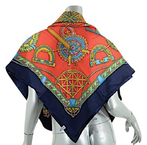 Fendi FENDI Authentic Points of the Compass Brand NEW Silk Scarf 39