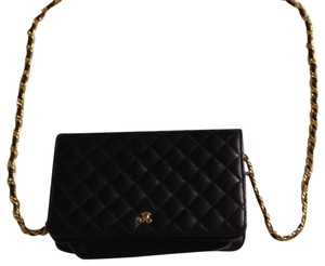 Jay Herbert New York Black and Gold Clutch