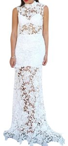 White Maxi Dress by Lioness Bohemian Festival Urban Chic Godiva Lace Maxi Southern Girl Fashion Shop