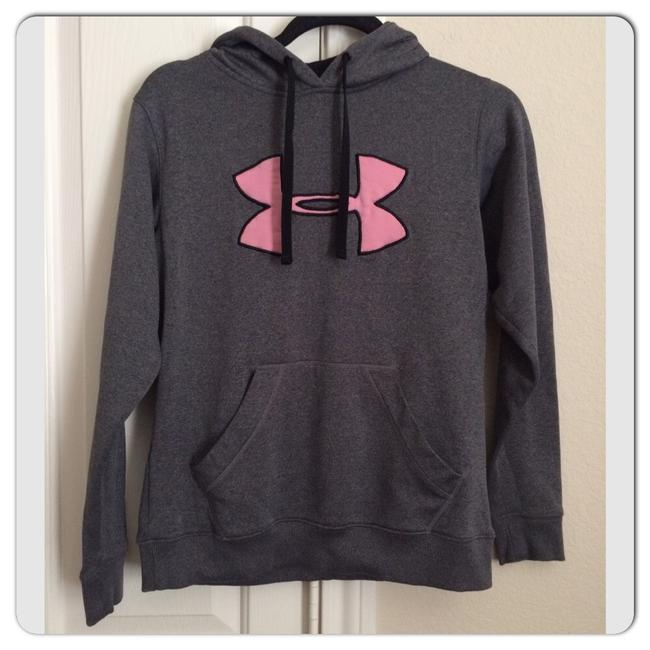Item - Gray/Pink/Black Big Logo Women's Activewear Outerwear Size 6 (S)