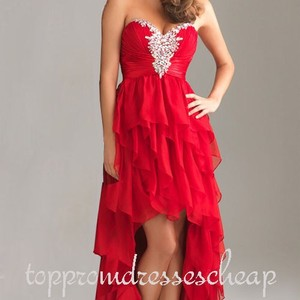 Night Moves Prom Dresses High Low Dress