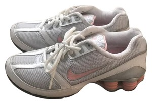 Nike silver/white/pink Athletic