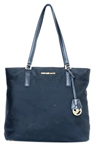 Michael Kors Nylon Tote in Black