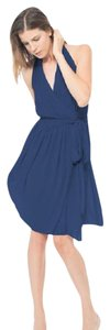 Joanna August Tangled Up In Blue Amber Short Dress