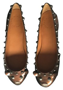 Marc by Marc Jacobs Patent Pewter Flats