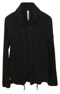 Lululemon Lululemon Black Gathered-Back Zip Front Jacket