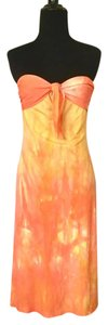Diane von Furstenberg short dress Orange and Yellow on Tradesy