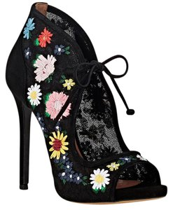 Tabitha Simmons Black/Multi Boots