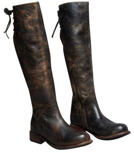 Bed|St black/distressed Boots