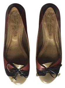 Poetic License Sable and cream, dark brown tassel. Flats