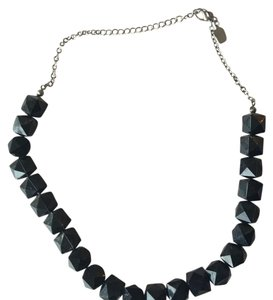 Nordstrom Black Statement Necklace