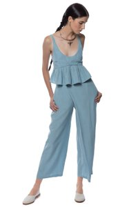 Mara Hoffman Trouser Pants Light Blue