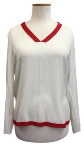 DREW Nwt Top White and Red