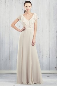 Jenny Yoo Champagne Cecilia Dress