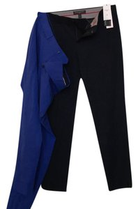 Banana Republic Capri/Cropped Pants Dark blue and bright blue