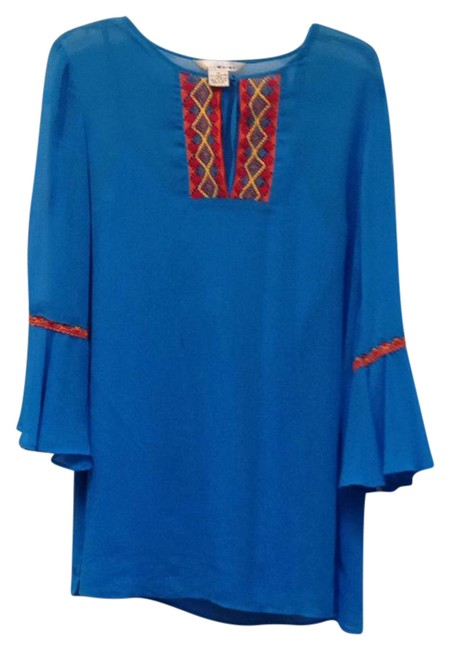 Item - Turquoise Two Piece Tunic Size 10 (M)