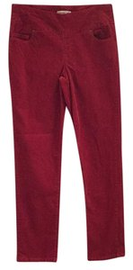 Coldwater Creek Straight Pants Orange