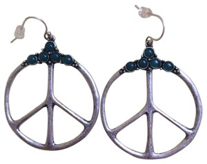 Lucky Brand lucky brand peace earrings
