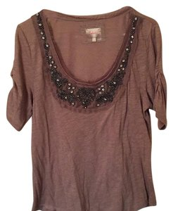 Deletta T Shirt brown