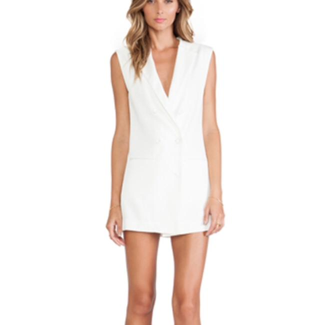 668f3653bf Lovers + Friends Off White Black Short Casual Dress Size 2 (XS ...