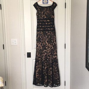 Tadashi Shoji Black & Nude Perfect Mob Dress - Great Condition Dress