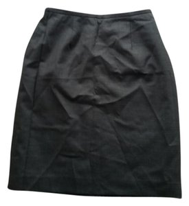 Petite Sophisticate Wool Vintage Work Office Skirt