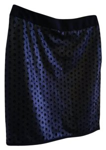 Under Skies Faux Leather Sexy Mini Skirt black