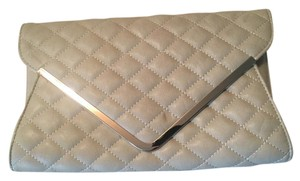 Urban Expressions Vegan Leather Tan Clutch