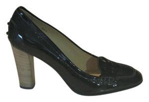 Tod's Leather Black Leather Pumps