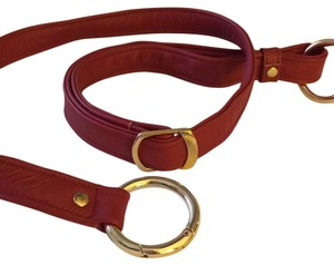 Leather Red Crossbody Replacement Strap Leather Red Replacement Strap