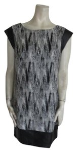 Catherine Malandrino short dress gray black white on Tradesy