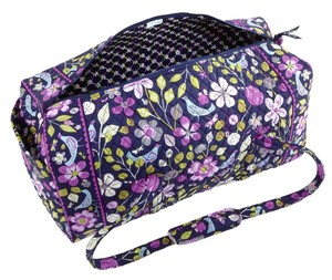 Vera Bradley Large Duffel Floral Nightingale Blue/Purple/multi Travel Bag