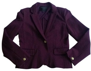 Sanctuary Los Angeles deep maroon/eggplant purple Blazer