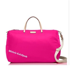 Kate Spade SWEETHEART PINK Travel Bag